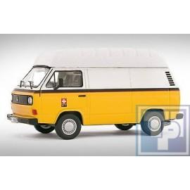 Volkswagen VW, T3 mit Hochdach, PTT, 1/43