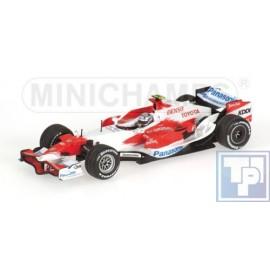 Toyota, Panasonic Racing TF107, 1/43