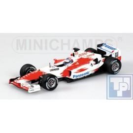 Toyota, Panasonic Racing TF104, 1/43