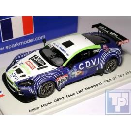 """Aston Martin, DBR9, """"Team LMP"""", 1/43"""