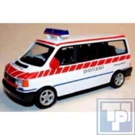 Volkswagen VW, LT Minibus, Polizei ZH/CH, 1/43