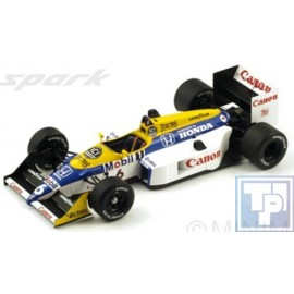 Williams, FW11B, 1/18
