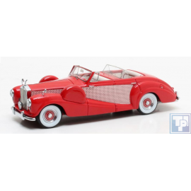 Freestone u. Webb 4 doors Cabriolet auf Rolls Royde Silver Wraith Chassis WLE27, 1/43