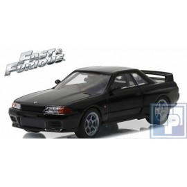 Nissan, Skyline GT-R (R32), fast and furious, 1/43