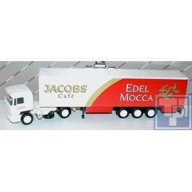 """MAN, F90 Sattelzug, """" Jacobs Cafe, Edel Mocca, 1/87"""