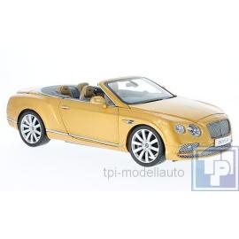 Bentley, Continental GT Cabriolet, 1/18