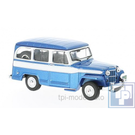 Jeep, Willy's Station Wagon, 1/43