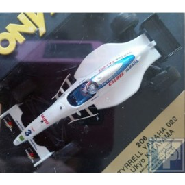 Tyrrell, Yamaha 022, 1/43
