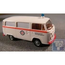 """Volkswagen VW, T2 Bus, """"Schweizerische Rettungsflugwacht"""", 1/87"""