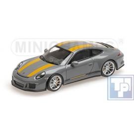 Porsche, 911 R (991) 1/43
