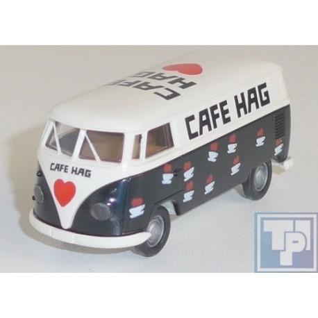 """VW Volkswagen, T1, """"Cafe Hag"""", 1/87"""