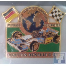 Benetton, Renault B195, Pin