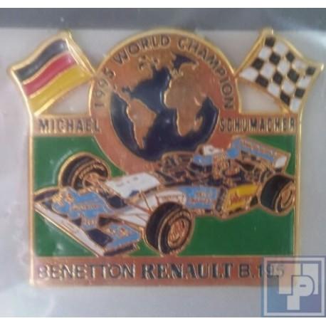 Benetton, Renault B195, Pin