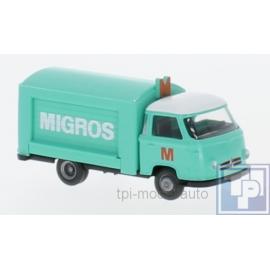 Borgward, Verkaufswagen, MIGROS, 1/87