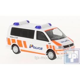 Volkswagen VW, T5, Polizei Genf, 1/43
