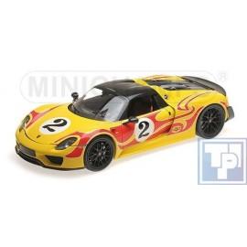 """Porsche, 918 Spyder, """"Weissach Package"""", 1/18"""