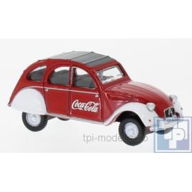 """Citroen, 2 CV, """"Coca Cola"""", 1/76"""