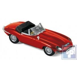 Jaguar, E-Type Cabriolet, 1/43