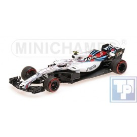Williams, Martini Racing Mercedes FW41, 1/43
