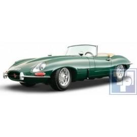 Jaguar, E-Type Cabriolet, 1/18