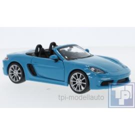 Porsche, 718 Boxter, 1/24