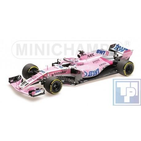 Sahara Force, India F1 Team Mercedes VJM11, 1/18