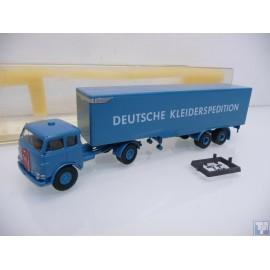 MAN, 10.212 FS Koffersattel-Sattelzug, 1/87