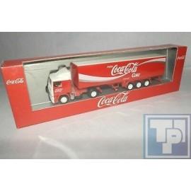 Volvo, F12 Koffer-Sattelzug, Coca Cola, 1/87