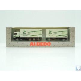 MAN, F90 Koffer-Hängerzug, 1/87