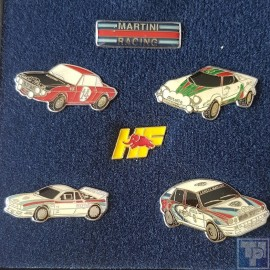 Lancia, Martini Pin-Set