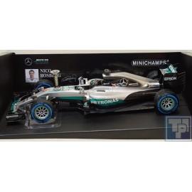 Mercedes, AMG Petronas W07 Hybrid, 1/18