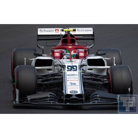 Alfa Romeo Racing F1 C38, 1/43