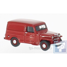 Jeep, Willys Panel Van, 1/87