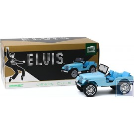 Jeep, CJ-5, Elvis Presley, 1/18