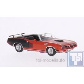 Plymouth, Hemi Cuda Cabriolet, 1/87