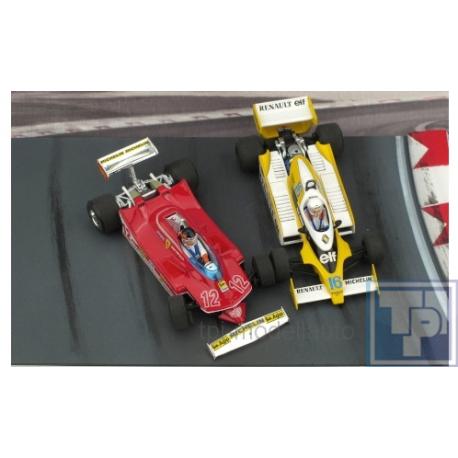 Ferrari, 312 T4 + Renault RS12, 2er-Set, 1/43