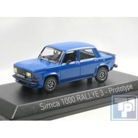 Simca, 1000 Rallye 3 Prototyp, 1/43
