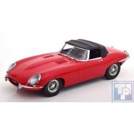 Jaguar, E-type Cabriolet Softtop, Serie 1, 1/18