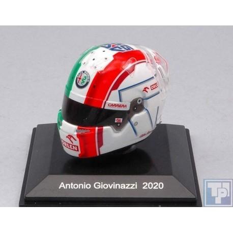 Helm, Antonio Giovinazzi, 1/8