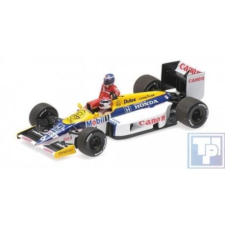 Williams, Honda FW11, 1/43