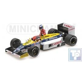 Williams, Honda FW11, 1/18