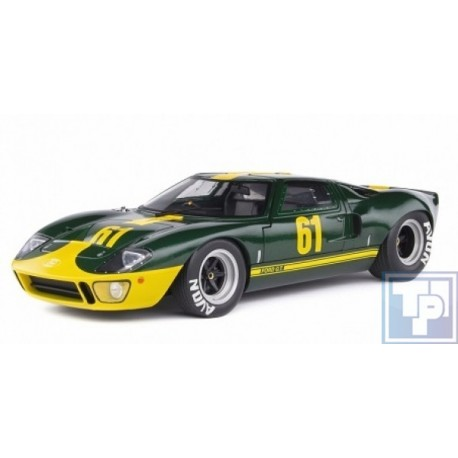Ford, GT40 Mk1 Racing, 1/18