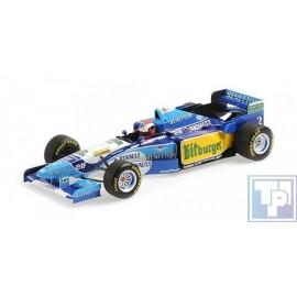 Benetton, Renault B195, 1/18