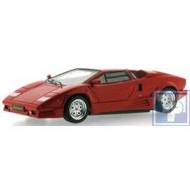 """Lamborghini, Countach, """"25th Anniversary"""", 1989, rot, , 1/43"""