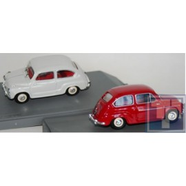 "Seat, 600 Berlina Stradale 1956 weiss""1/43"", 1/43"